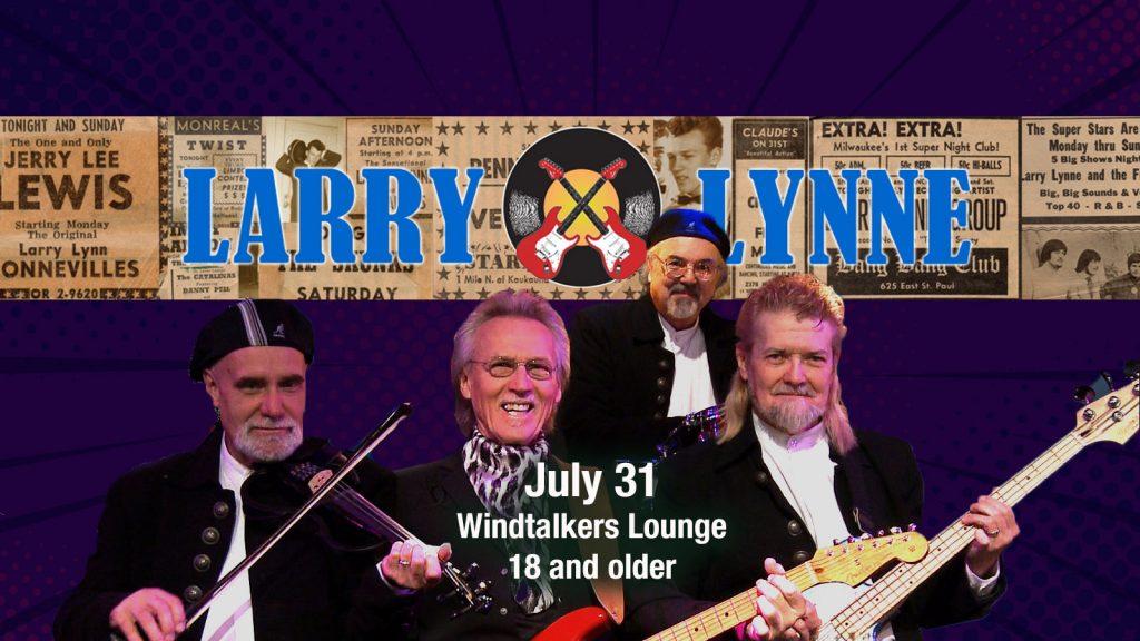 Larry Lynn Band LCD